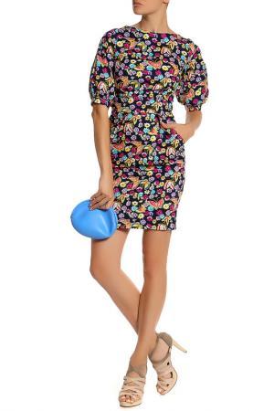 Платье LASKANY collezioni. Цвет: цветочный