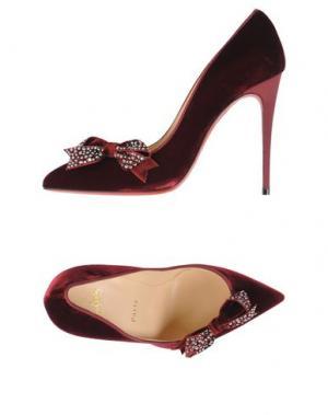Туфли CHRISTIAN LOUBOUTIN. Цвет: красно-коричневый