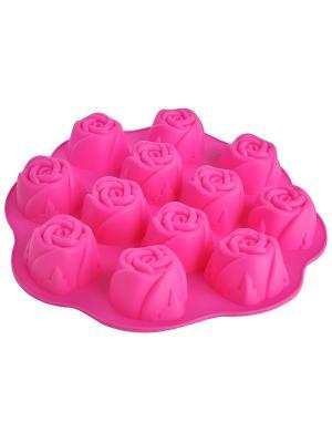 Форма для выпечки Regent inox. Цвет: розовый