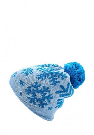 Шапка Vitacci. Цвет: голубой