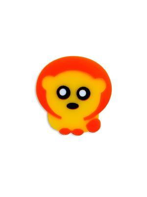Львенок Сплетница. Цвет: черный, желтый, оранжевый