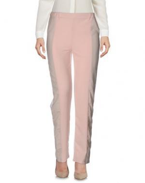 Повседневные брюки MNML COUTURE. Цвет: светло-розовый