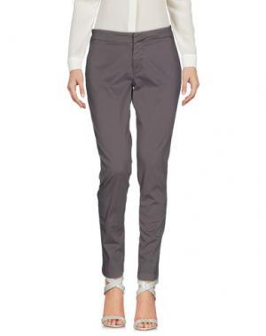 Повседневные брюки TAKUTEA. Цвет: серый