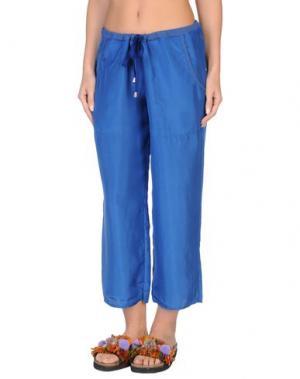 Пляжные брюки и шорты GRAZIA'LLIANI SOON. Цвет: синий