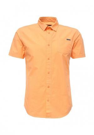 Рубашка Fresh Brand. Цвет: оранжевый