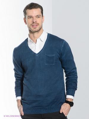 Пуловер Alcott. Цвет: серо-голубой