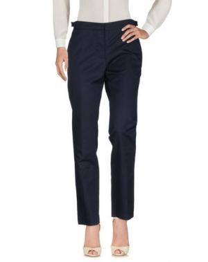 Повседневные брюки FABIO QUARANTA. Цвет: темно-синий