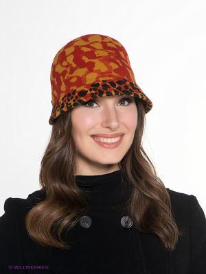 Шляпа SEEBERGER. Цвет: красный, горчичный