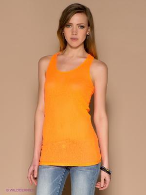 Топ ICHI. Цвет: светло-оранжевый