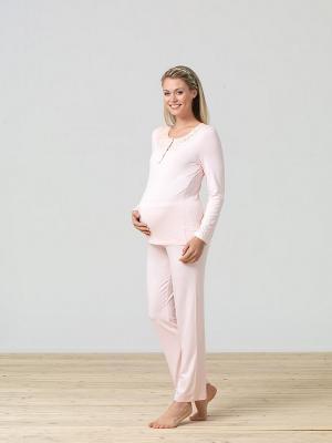 Комплект для беременных BlackSpade. Цвет: розовый