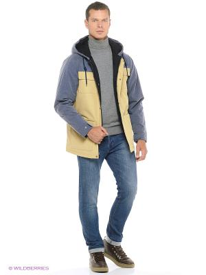 Куртка VANS. Цвет: бежевый