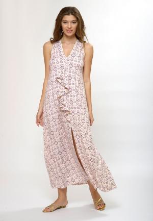 Платье пляжное Petit Pas. Цвет: розовый