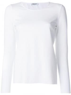Блузка с открытой спиной Dondup. Цвет: белый