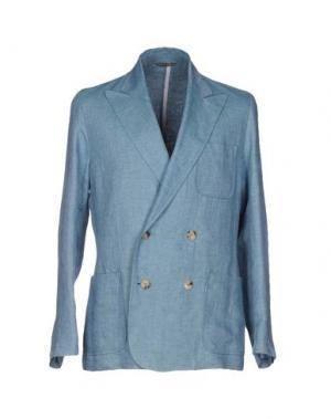 Пиджак RICHARD JAMES. Цвет: пастельно-синий
