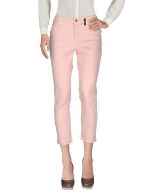Повседневные брюки MARANI JEANS. Цвет: светло-розовый