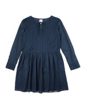Платье SWILDENS. Цвет: темно-синий