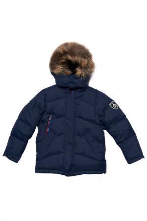 Куртка Junior Republic. Цвет: синий