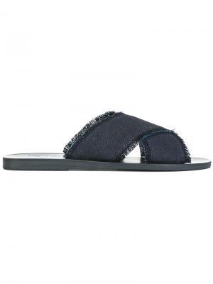 Сандалии Thais Ancient Greek Sandals. Цвет: синий
