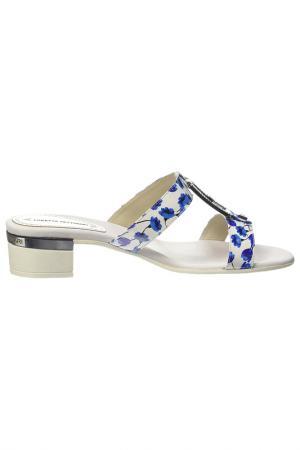 Clogs Loretta Pettinari. Цвет: blue and white