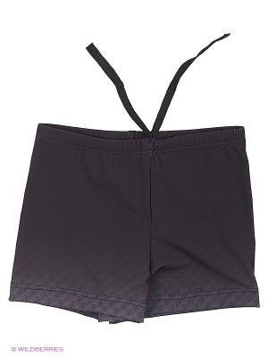 Плавки-шорты KICKERS. Цвет: серый