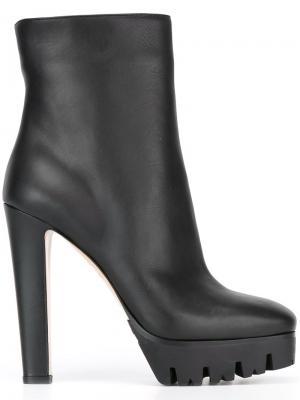 Ботинки на каблуке Le Silla. Цвет: чёрный