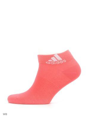 Носки взр. PER ANKLE T 3PP  RAYPNK/WHITE/JOY Adidas. Цвет: розовый, белый, красный