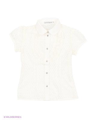 Рубашка Nota Bene. Цвет: молочный