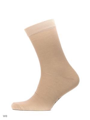 Носки Мужские,комплект 5шт Malerba. Цвет: бежевый