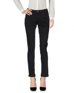 Повседневные брюки RE-HASH. Цвет: черный