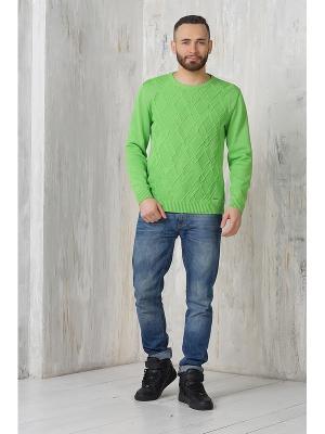 Джемпер VAY. Цвет: светло-зеленый