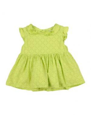 Платье U+É. Цвет: кислотно-зеленый