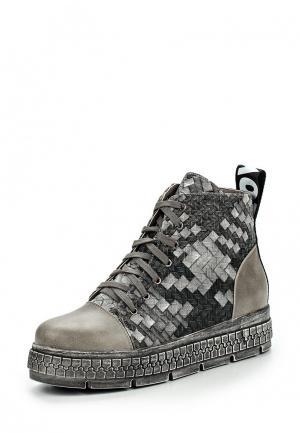 Ботинки Item Black. Цвет: серый