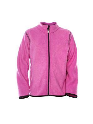 Толстовка Lynxy. Цвет: розовый, черный