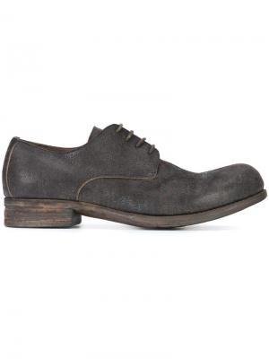 Классические туфли Дерби A Diciannoveventitre. Цвет: чёрный