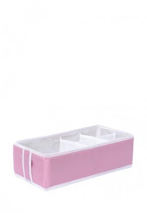 Система хранения для белья Homsu. Цвет: розовый