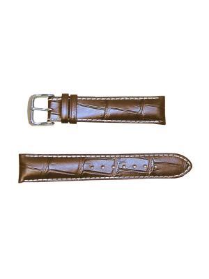 Ремень для часов .Venezuela Bentley, им. Аллигатора.20 мм. Di-modell. Цвет: темно-коричневый
