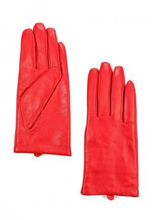 Перчатки United Colors of Benetton. Цвет: красный