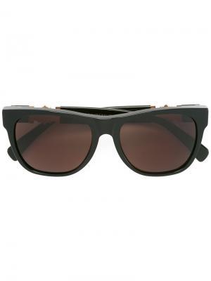 Солнцезащитные очки Classic Retrosuperfuture. Цвет: чёрный