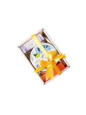 Косметический набор Лукошко №8 Мануфактура Дом Природы. Цвет: светло-коричневый