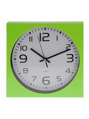 Часы настенные Mitya Veselkov. Цвет: зеленый