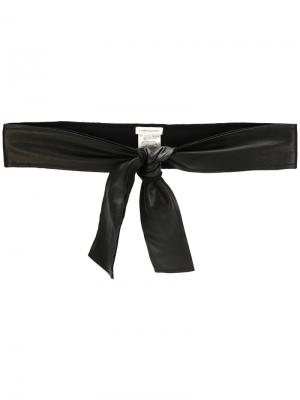 Tie belt Lamberto Losani. Цвет: чёрный