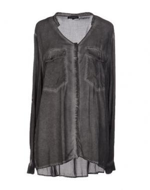 Pубашка SECOND FEMALE. Цвет: свинцово-серый