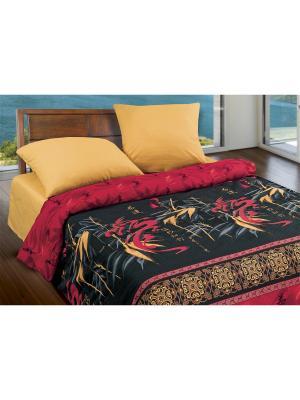 Комплект постельного белья Wenge. Цвет: черный, малиновый, бежевый, красный, кремовый