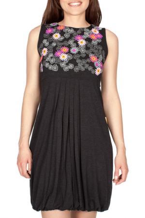 Платье MAMATAYOE. Цвет: серый