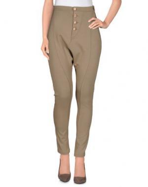 Повседневные брюки JEI O'. Цвет: хаки