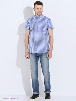 Рубашка Pre End (Дания) 34-100195. Цвет: голубой, синий
