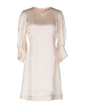Короткое платье COAST WEBER & AHAUS. Цвет: бежевый