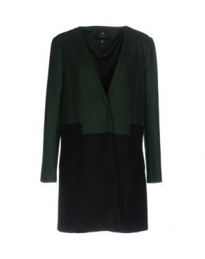 Пальто ANGEL EYE. Цвет: зеленый