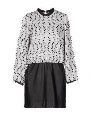 Короткое платье IRIS VAN HERPEN. Цвет: белый
