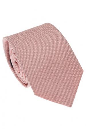 Фактурный розовый галстук Gucci. Цвет: розовый